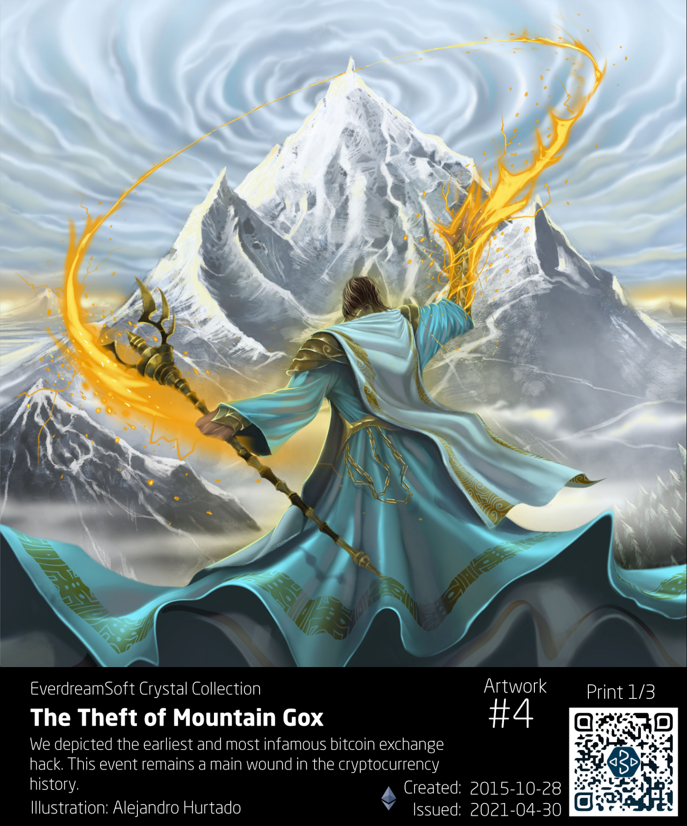 The Theft of Mountain Gox, Print 1/3