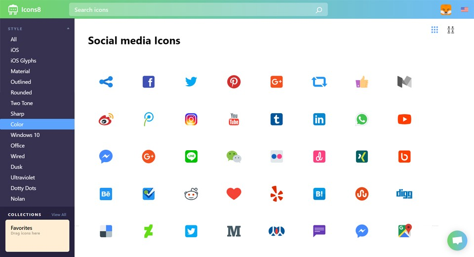 UX Design Case Study: Icons8 Web App  Redesign Based on Usability