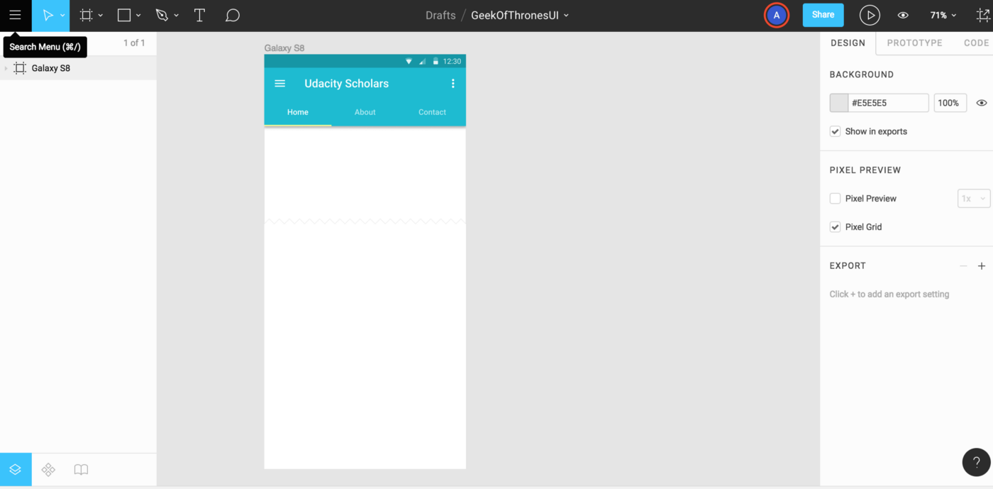 Getting started with figma tool for Project mockups