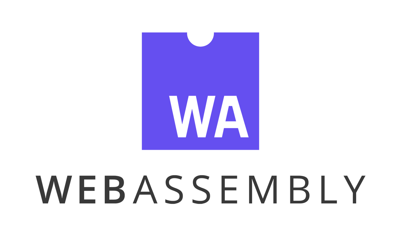 Webassebly logo. Useful to create better and faster APIs