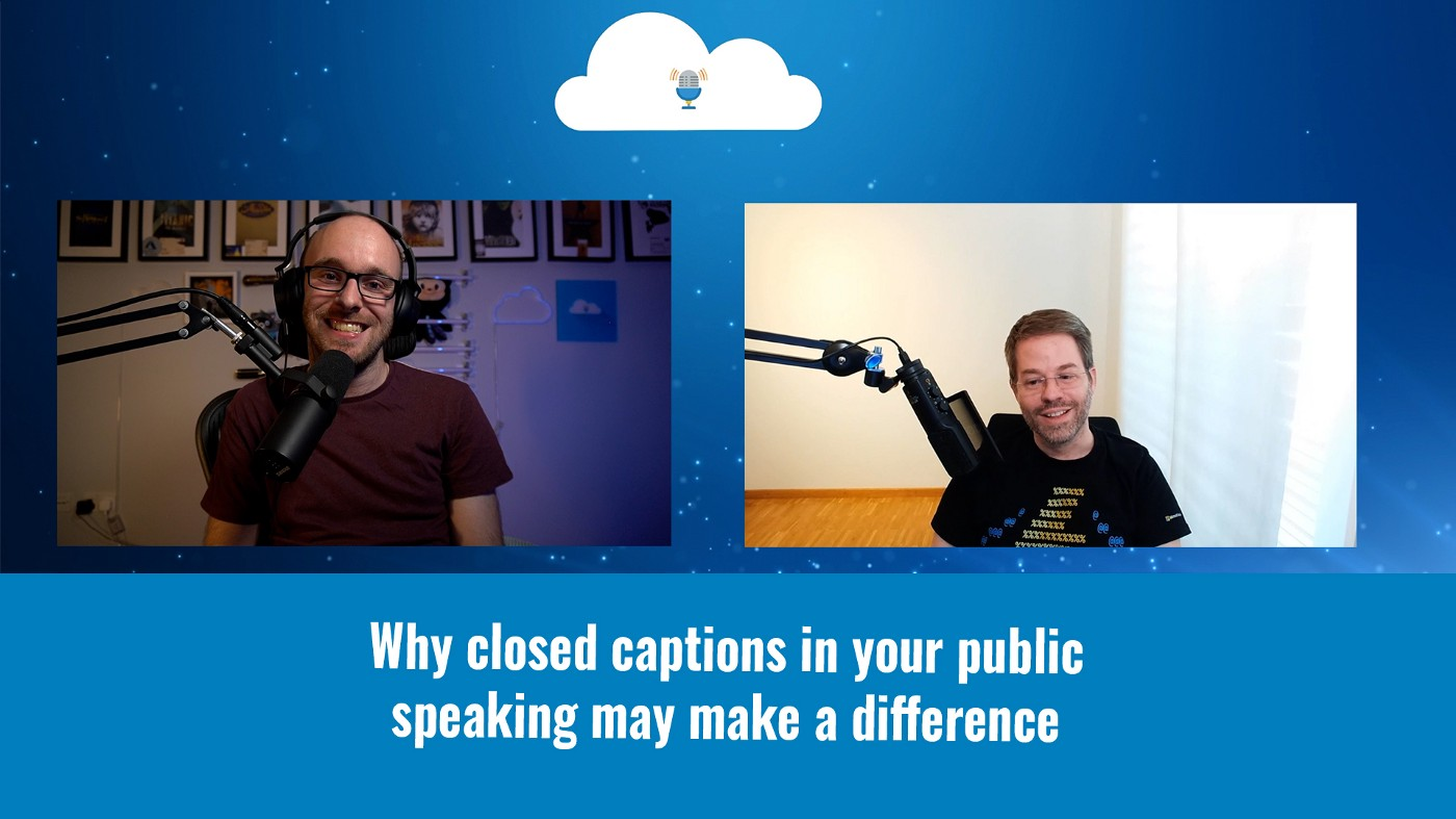 Why closed captions in your public speaking may make a difference