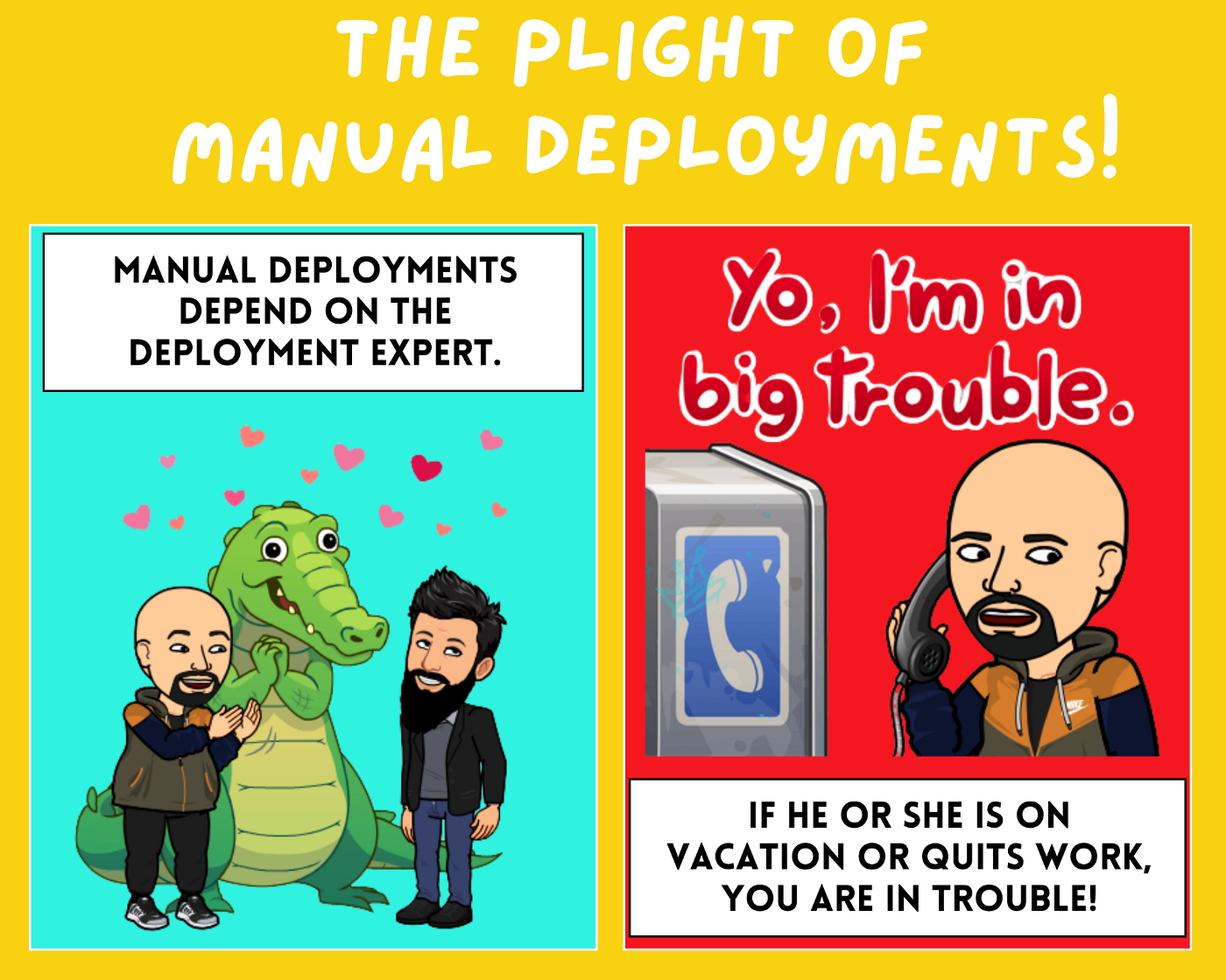 The Plight of Manual Deployments! | @iSwamiK