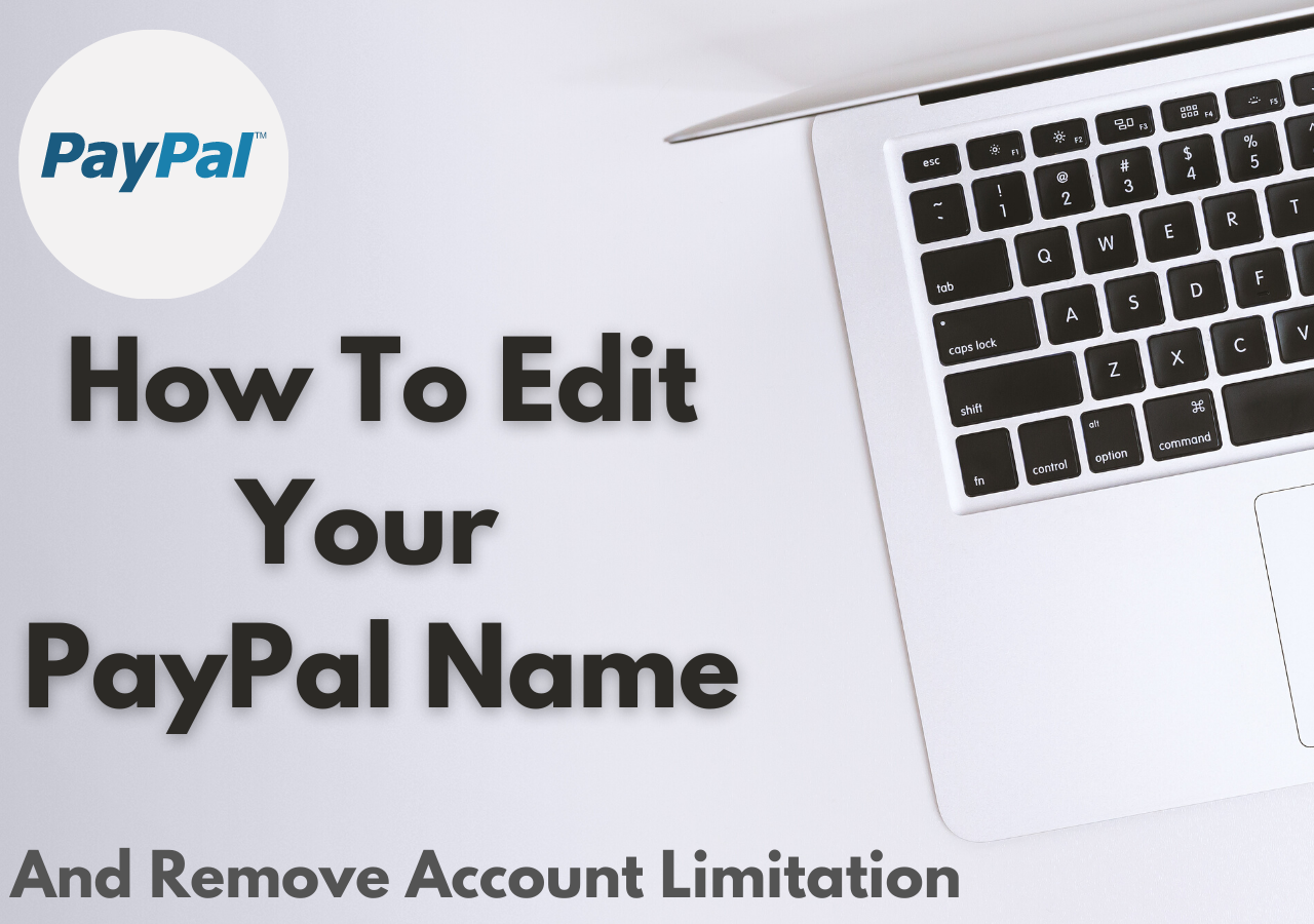 A cover photo on How To Edit Your PayPal Name