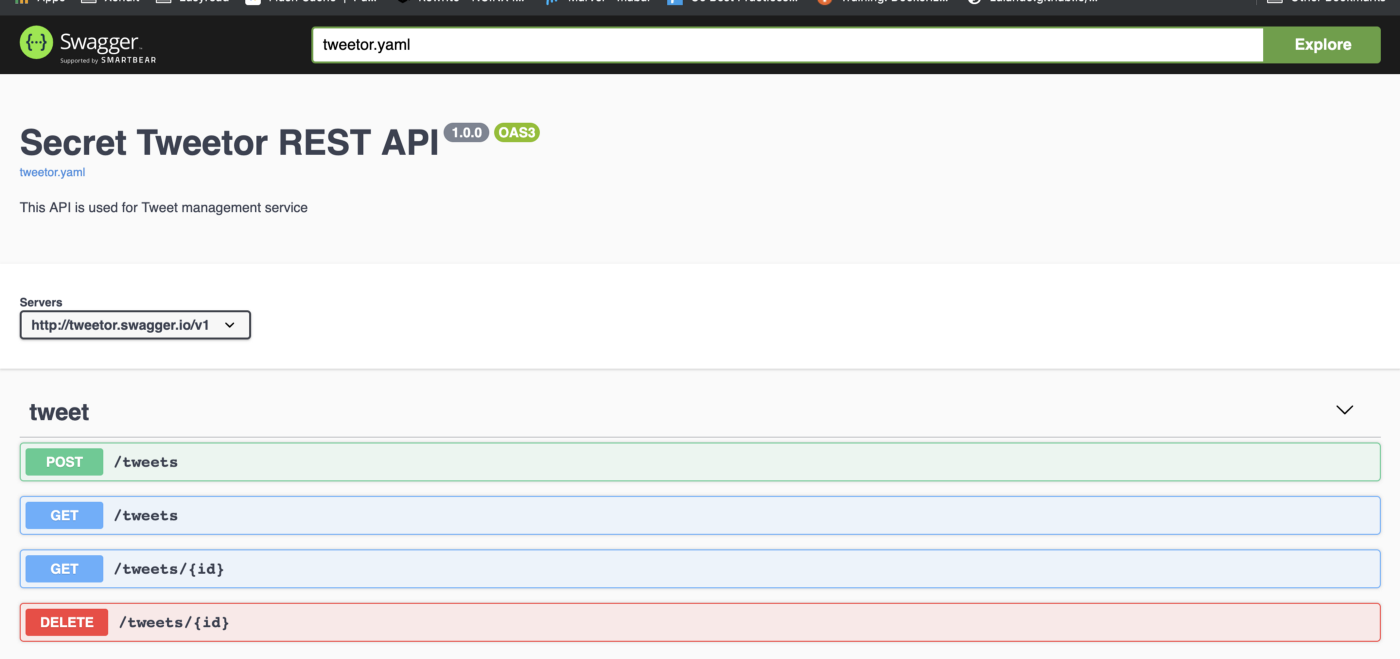 Utilize Open API 3 for the Faster Software Development Process
