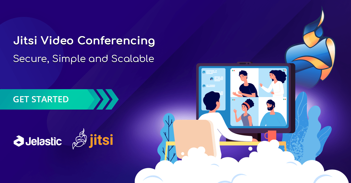 Secure, Simple and Scalable Video Conferencing with Jitsi