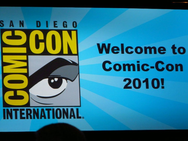 The logo for the 2010 San Diego Comic Con