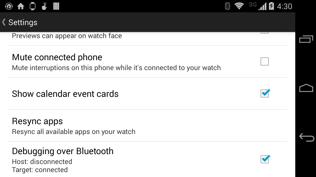 Android Wear Bluetooth Debugging Quickly Guide  - Julio Del Valle