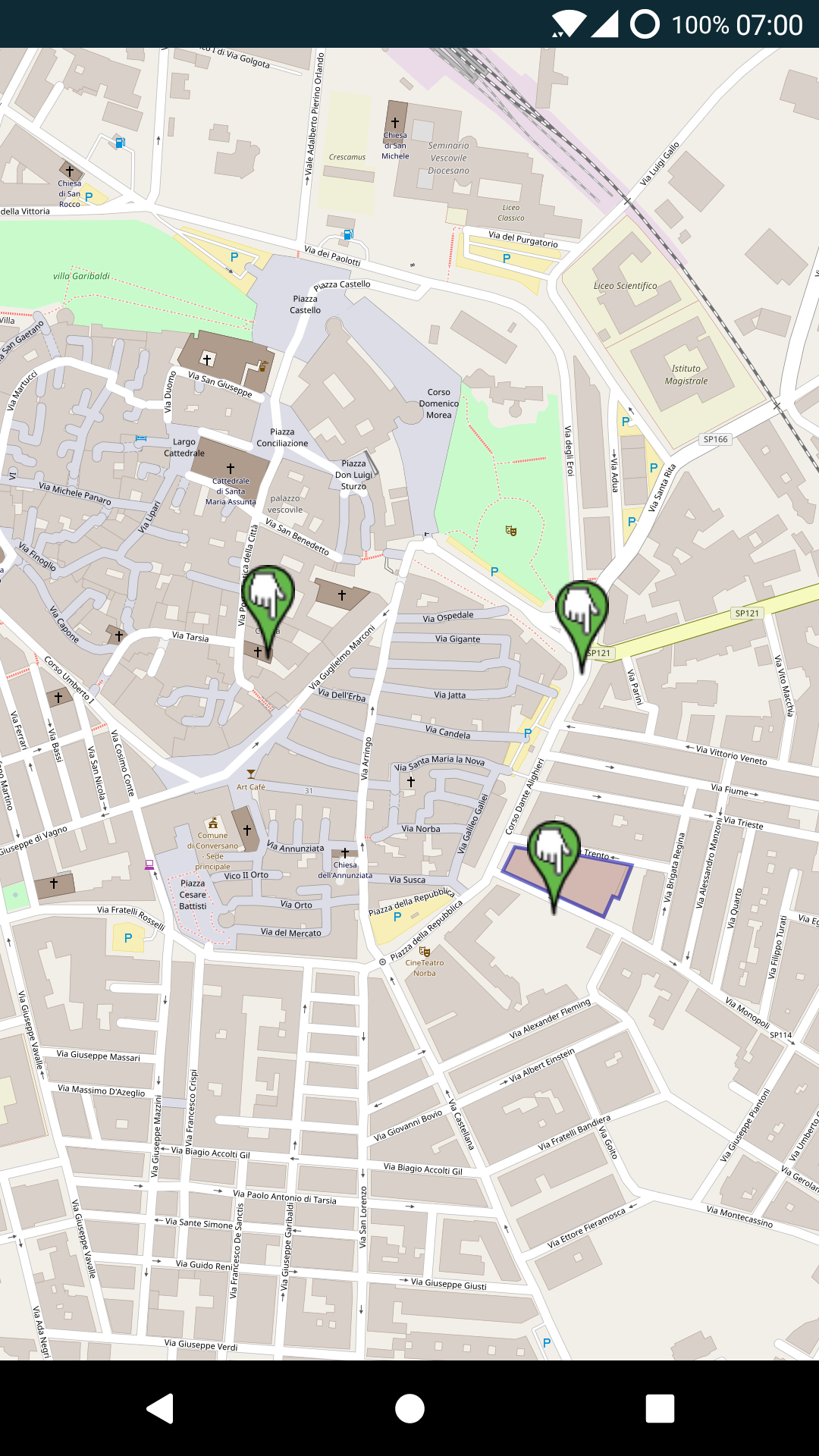 Render a GeoJson layer with Google Maps, OSM or Mapbox on Android