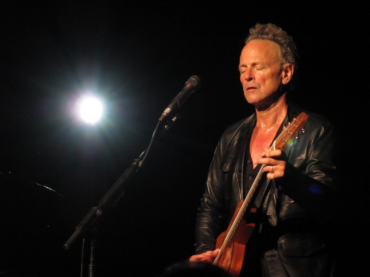 The complete Lindsey Buckingham concert experience from