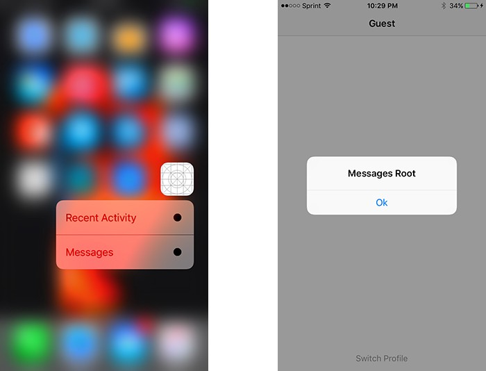 iOS: How to open Deep Links, Notifications and Shortcuts