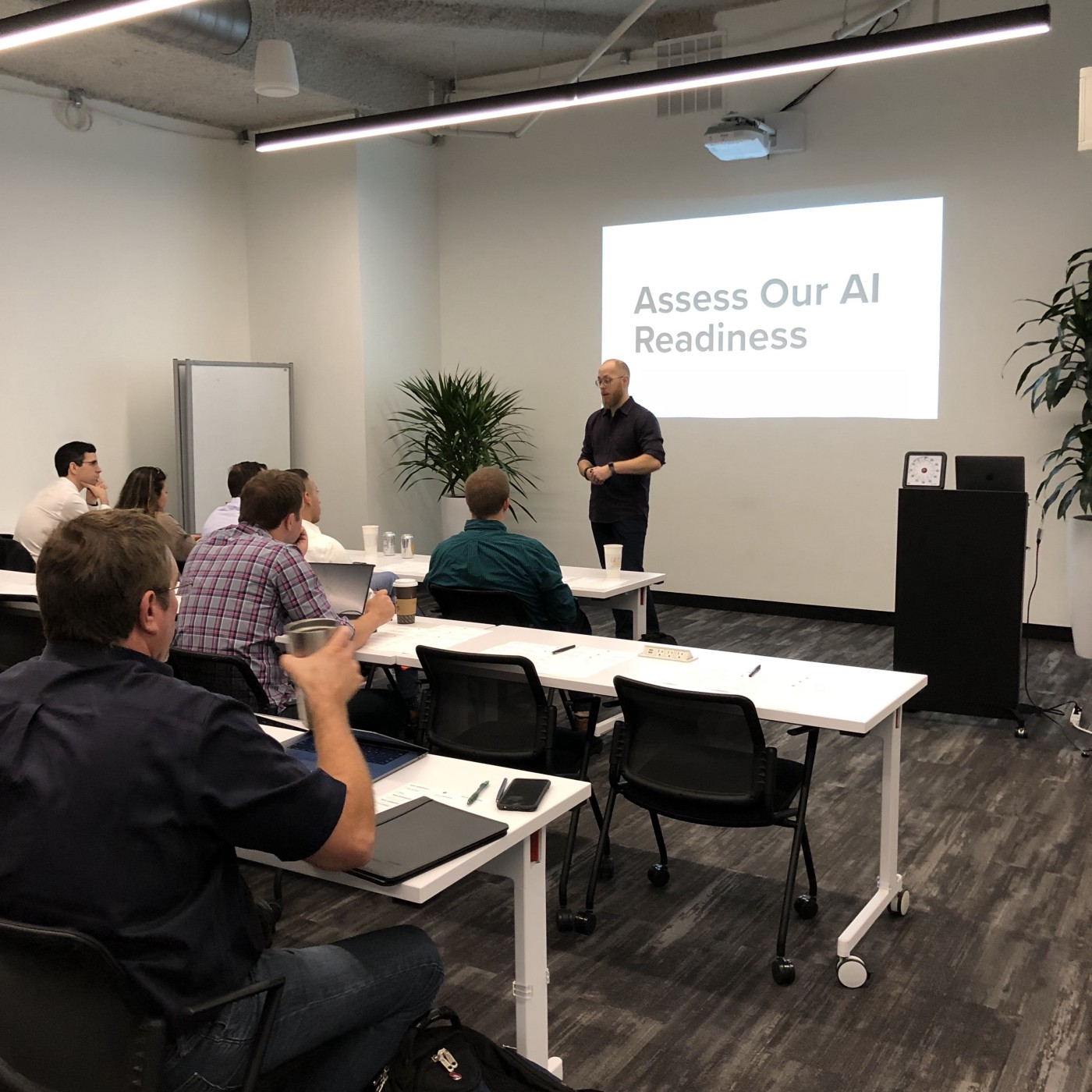 From AI Thinking to AI Doing: A Strategy Workshop - Voltage Control