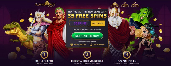 FREE SPINS No Deposit Needed or Required! Keep what you win! Play Online Casino Games and win real money!