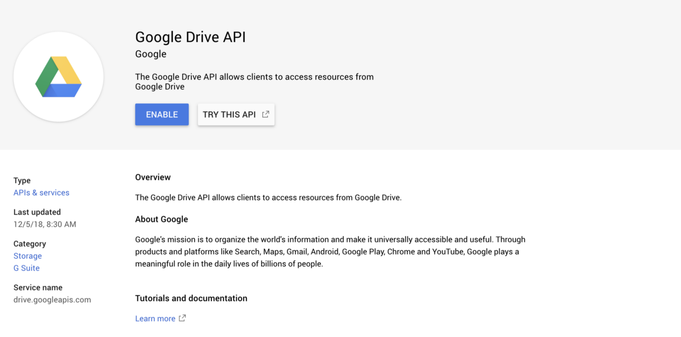 Integrate Google Drive REST API on Android App - Ammarptn