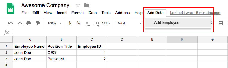 Adding to the Google Sheets User Interface & Cross Referencing Workbooks