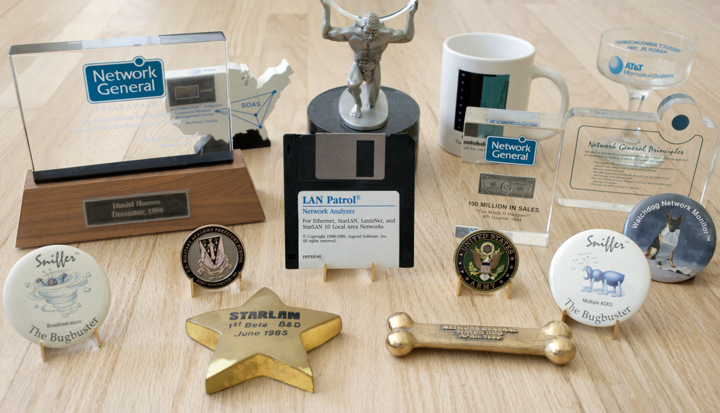 Mementos from a 36 year software engineering career