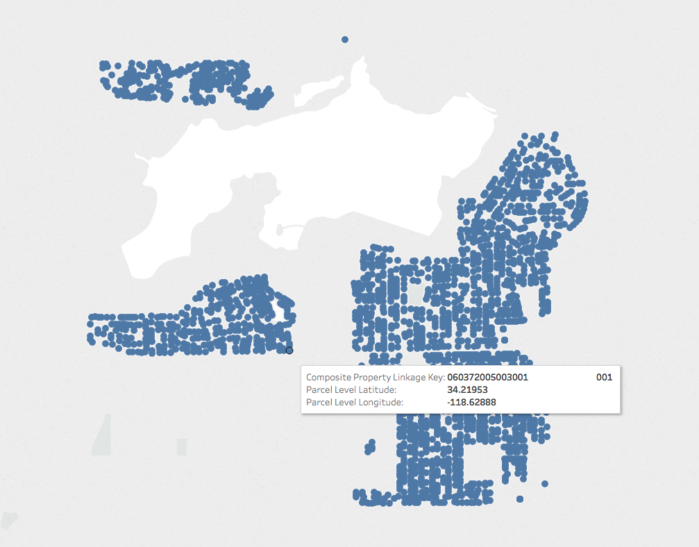 Visualize Geographic Data Using Longitude and Latitude Values in Tableau