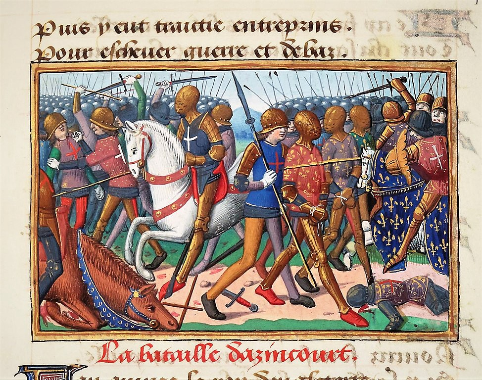 Battle of Agincourt—a battle lost due to mud.