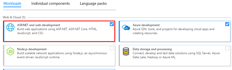 How to build an Angular Application with ASP NET Core in Visual