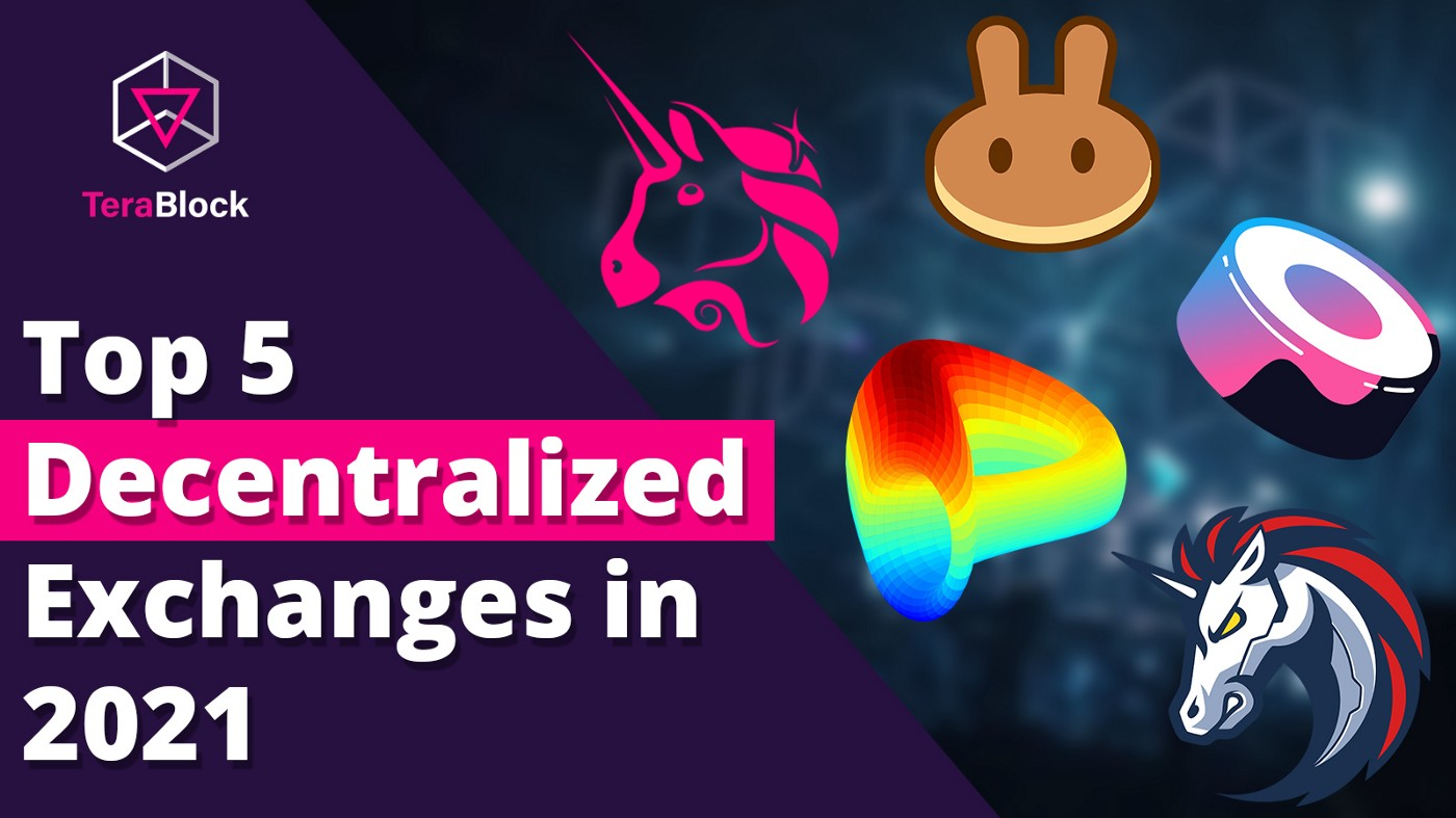 TOP 5 DECENTRALIZED CRYPTOCURRENCY EXCHANGE 2021