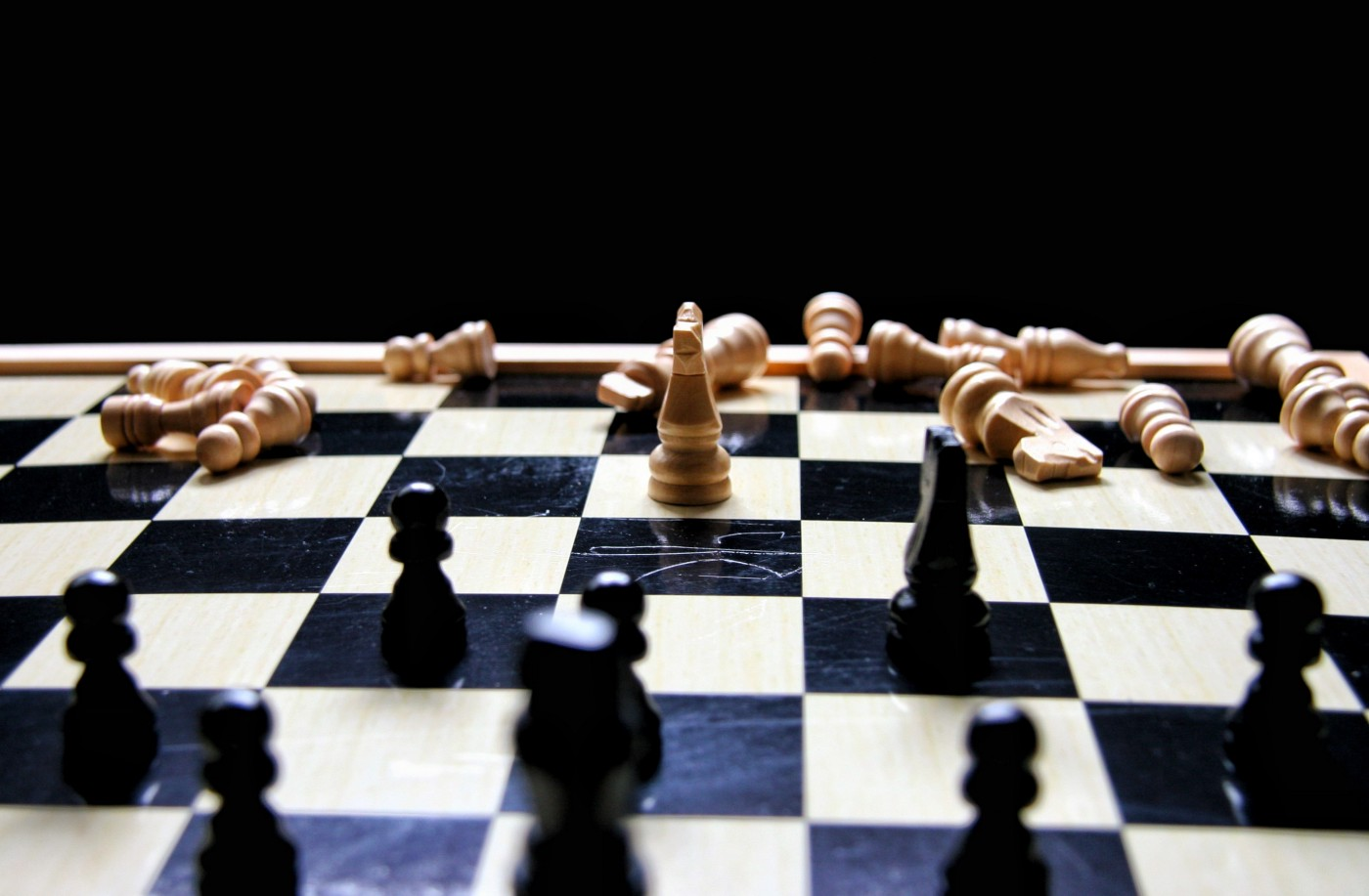 Chess board: the odds are stacked against you