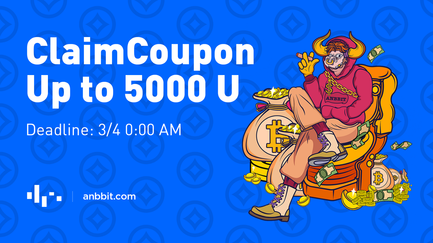 Anbbit Launches 5000U Trading Coupon Claiming Event