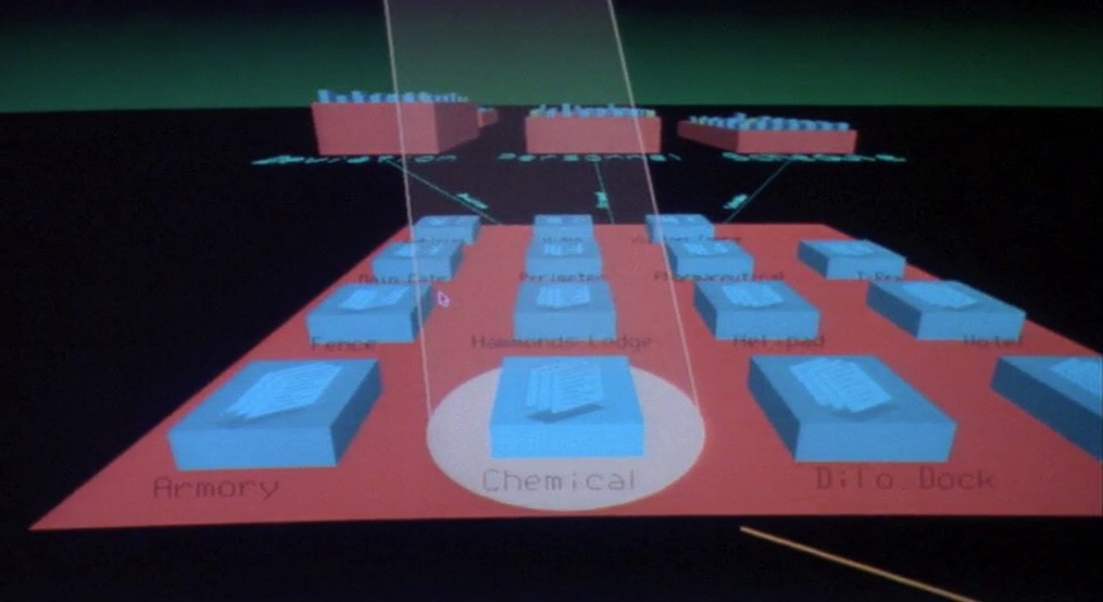 "The ""Unix"" 3D file system featured in Jurassik Park (1993) dumfounded many developers as a beautiful but impracticable one."
