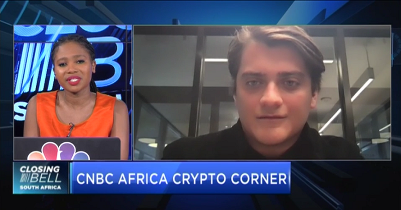 CNBC Africa Crypto Corner with Weentar CEO