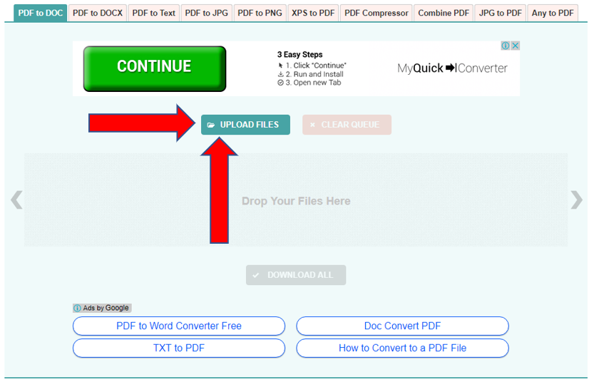 3 Useful Website For 'Converting PDF Files to Word Document
