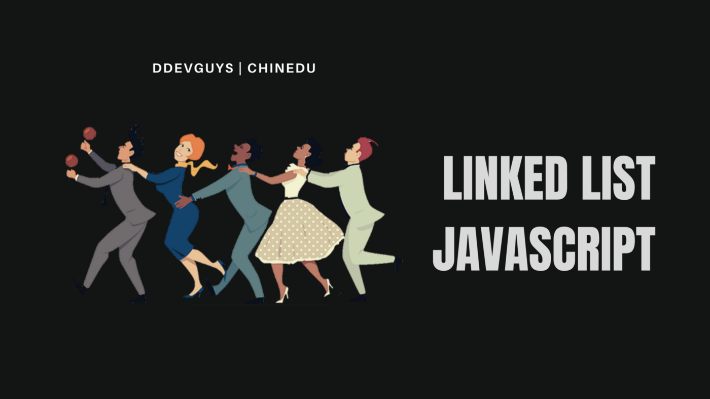 Implement a linked list with JavaScript