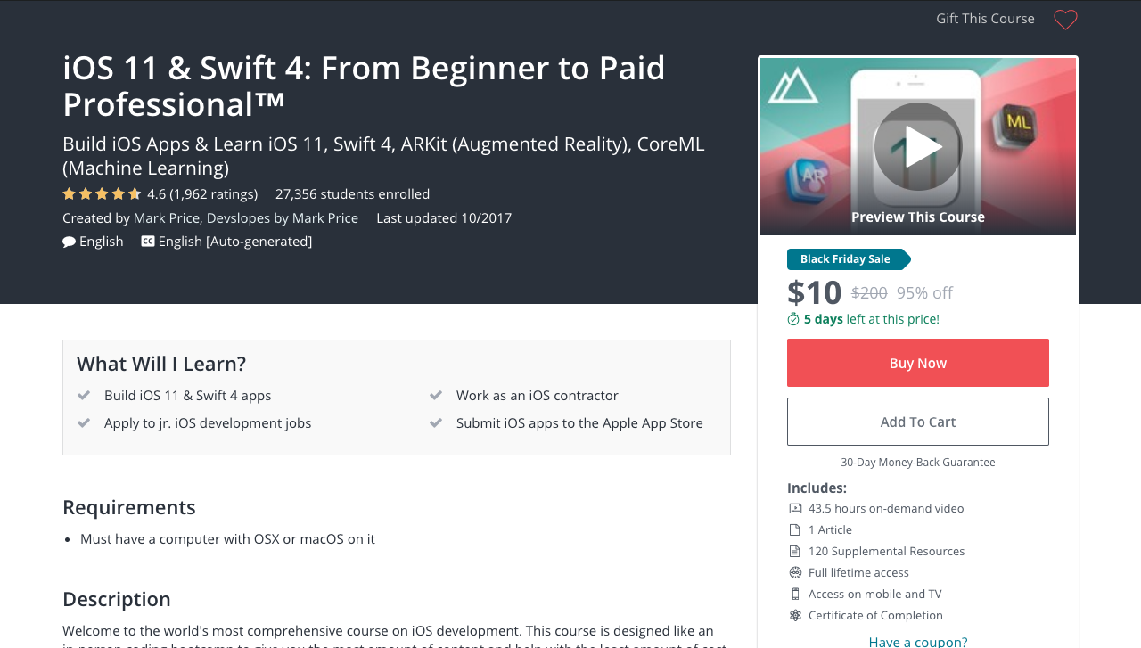 5 Best Udemy Courses for Learning iOS Development - Forrest Knight