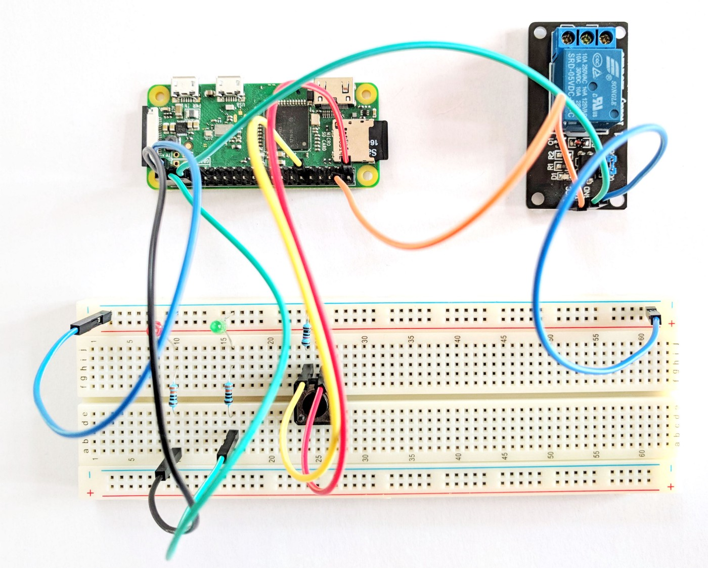 How to implement door unlocking system with Raspberry Pi, iPhone and