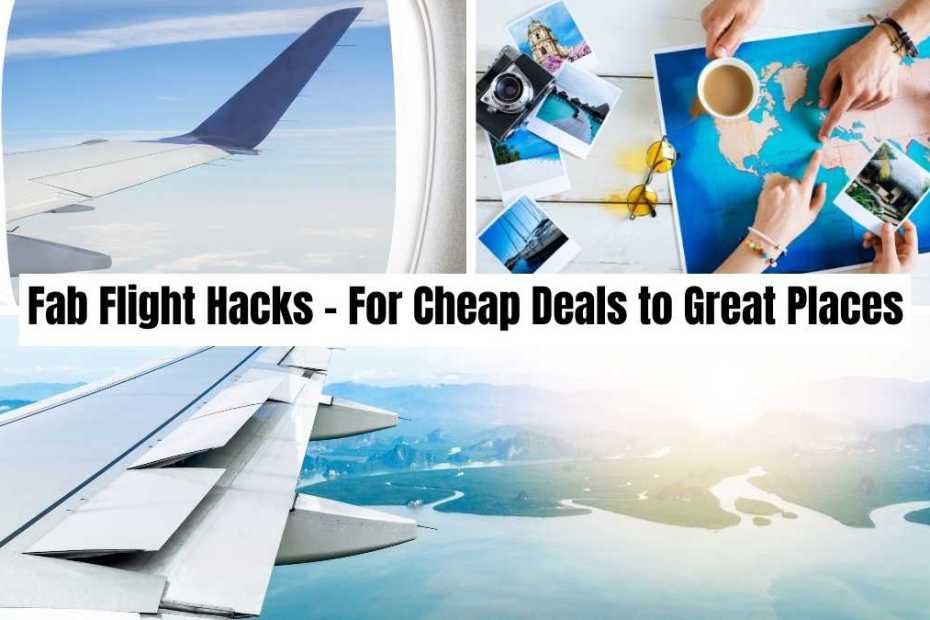 fab flights hacks by the professional traveller #theprofessionaltraveller #seemoreworldforless