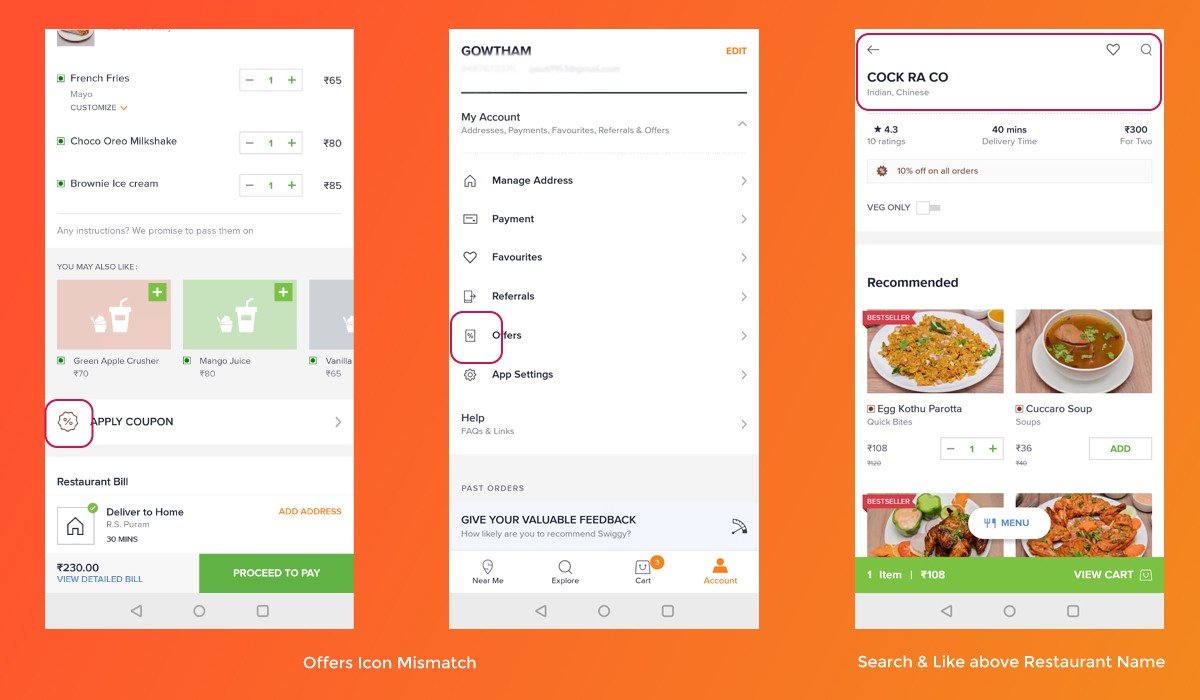 Swiggy food order & delivery app—a heuristic evaluation case study