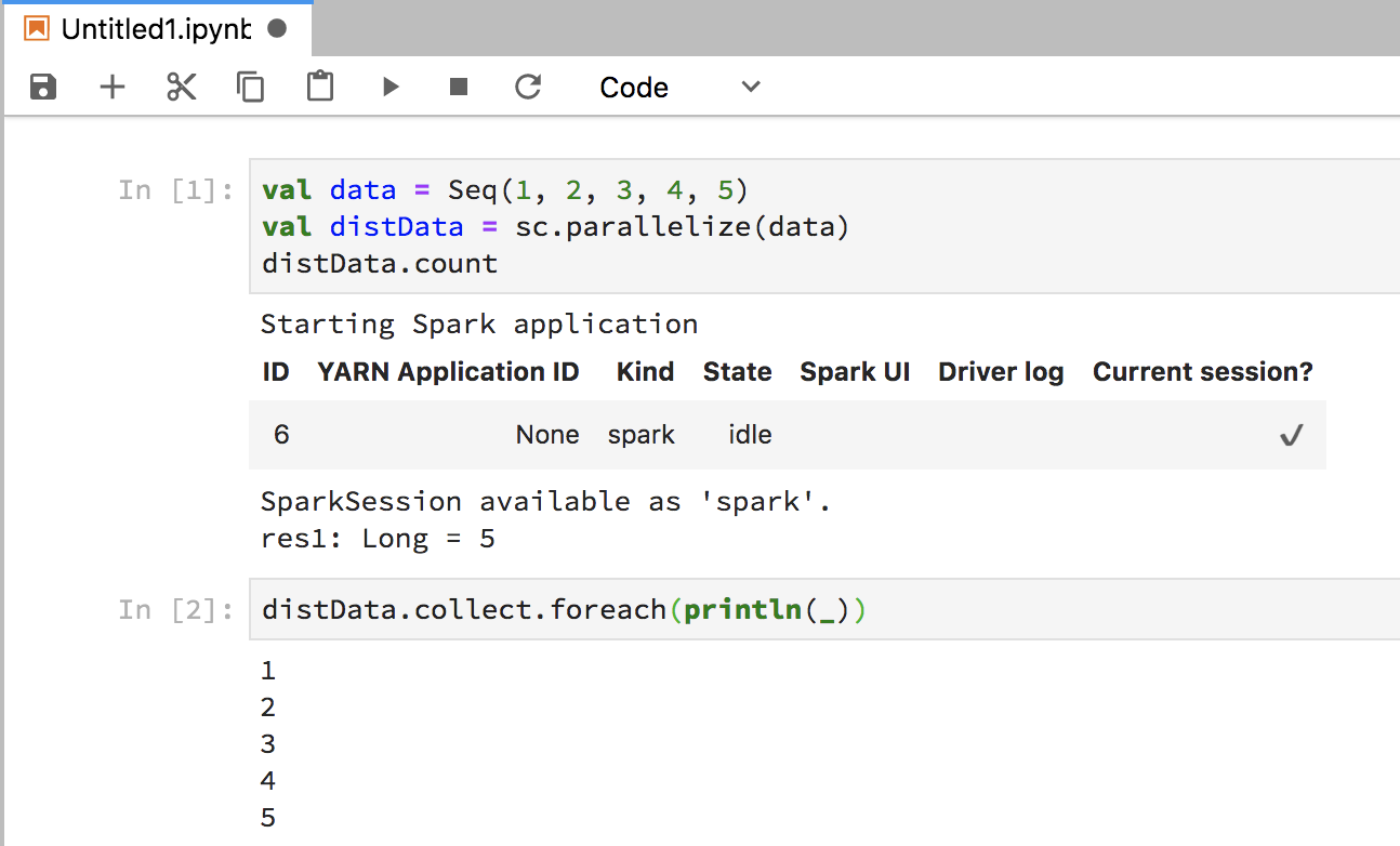 Setting up a scalable data exploration environment with Spark and