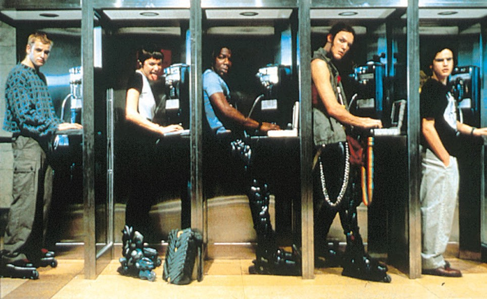 A promotional image from the film Hackers.