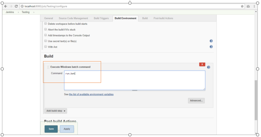 How to Integrate your Selenium Project with Jenkins