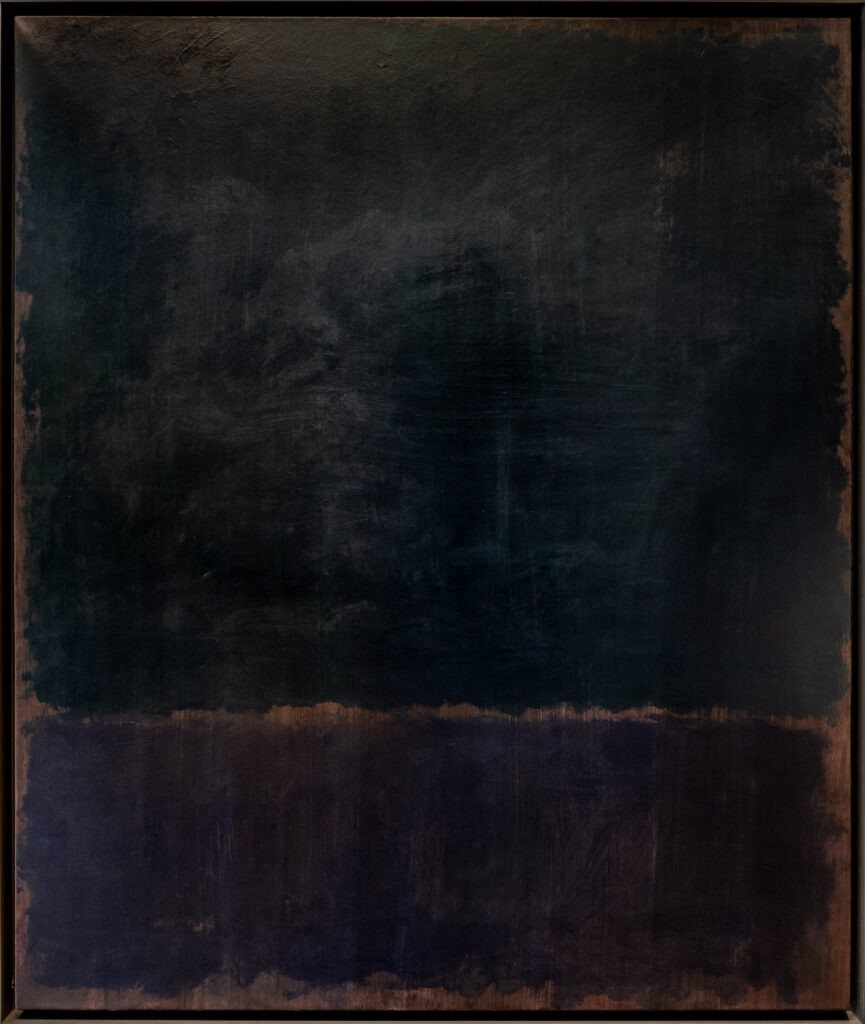 Black Blue Painting by American Artist Mark Rothko, who's works I cannot get enough of at the moment