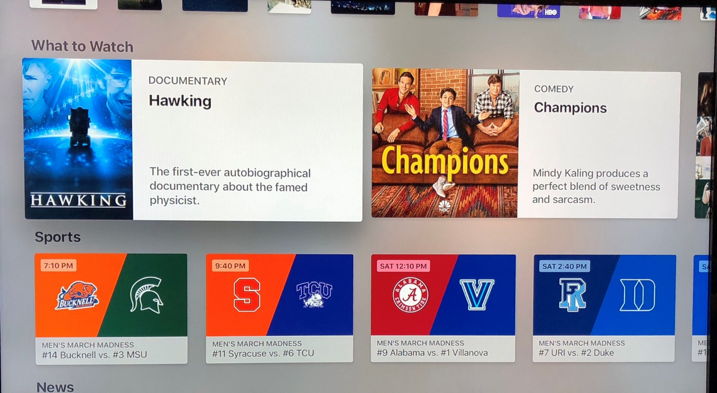 March Madness: Inside the best Apple TV feature you're probably not