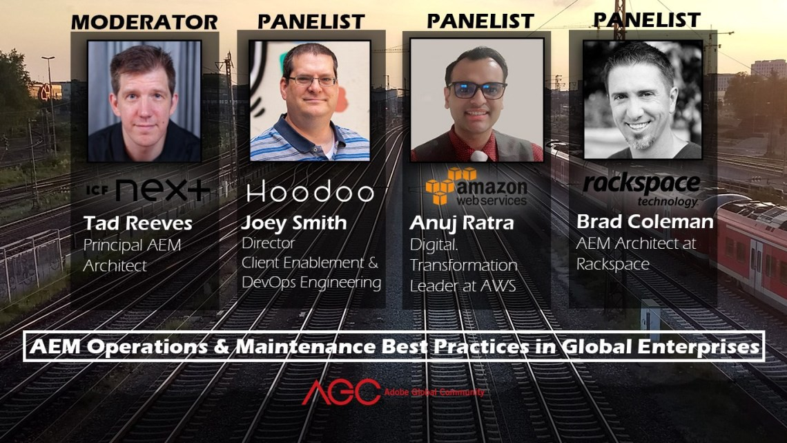 Joey Smith to join Panel Discussion about AEM Operations and Maintenance