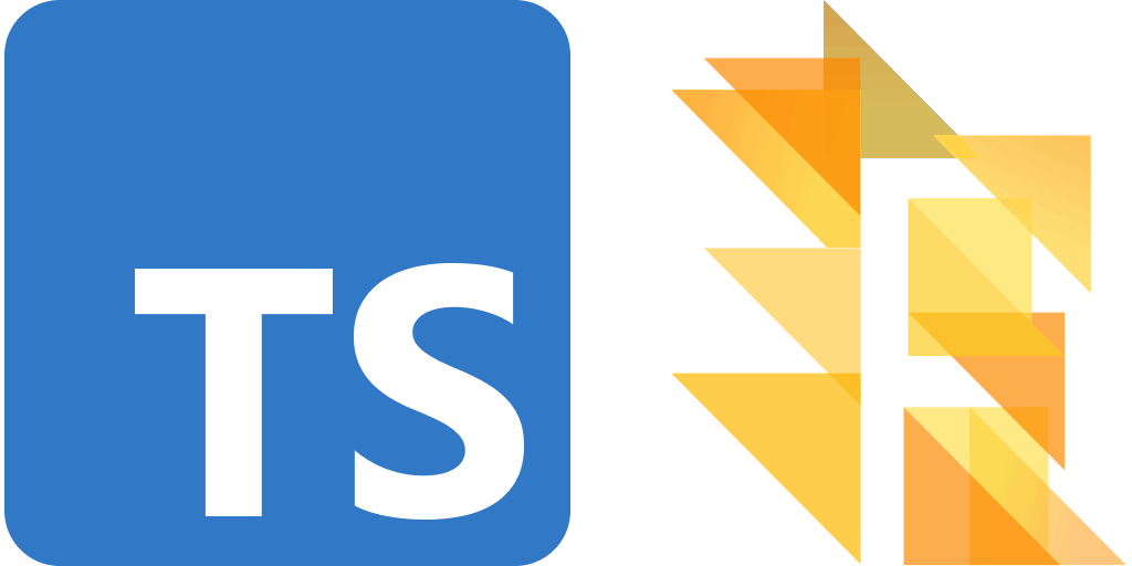 TypeScript and Flow logos