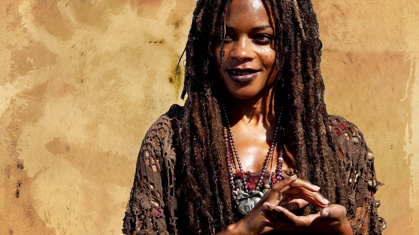 Tia Dalma, the Voodoo and Obeah sorceress played by Naomie Harris who's the fourth best Pirates of the Caribbean character.