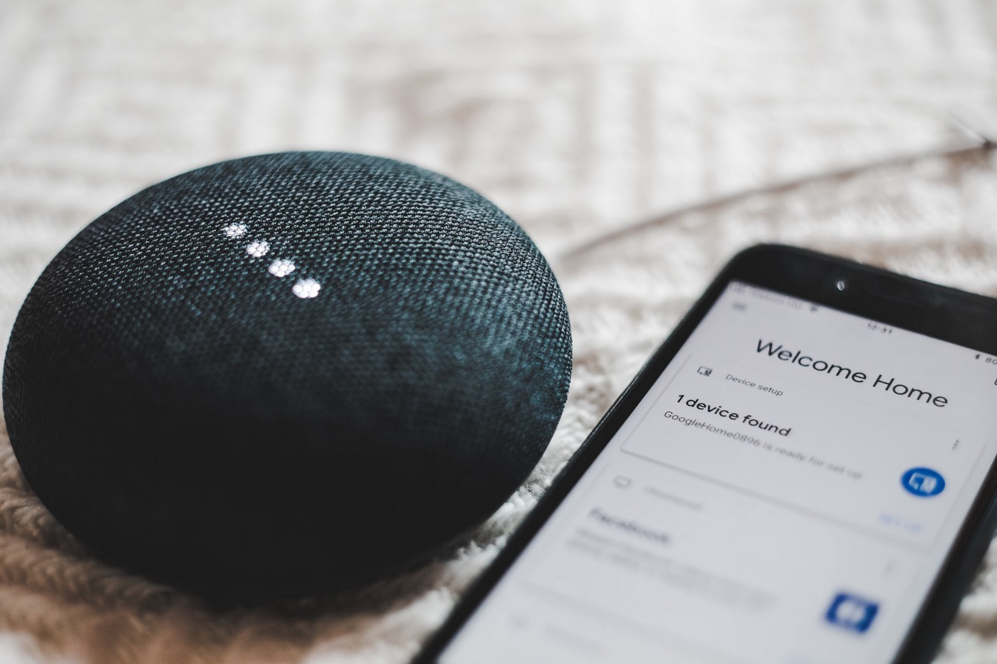 google home mini and google home assistant