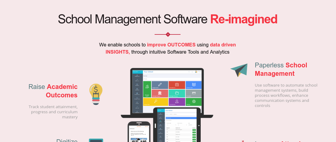 School Data Management System