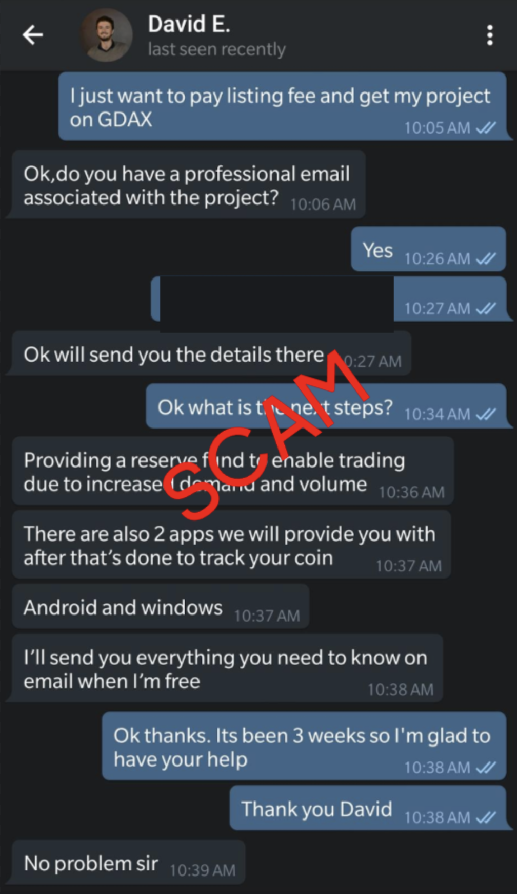Anatomy of a Telegram Scam - The Coinbase Blog