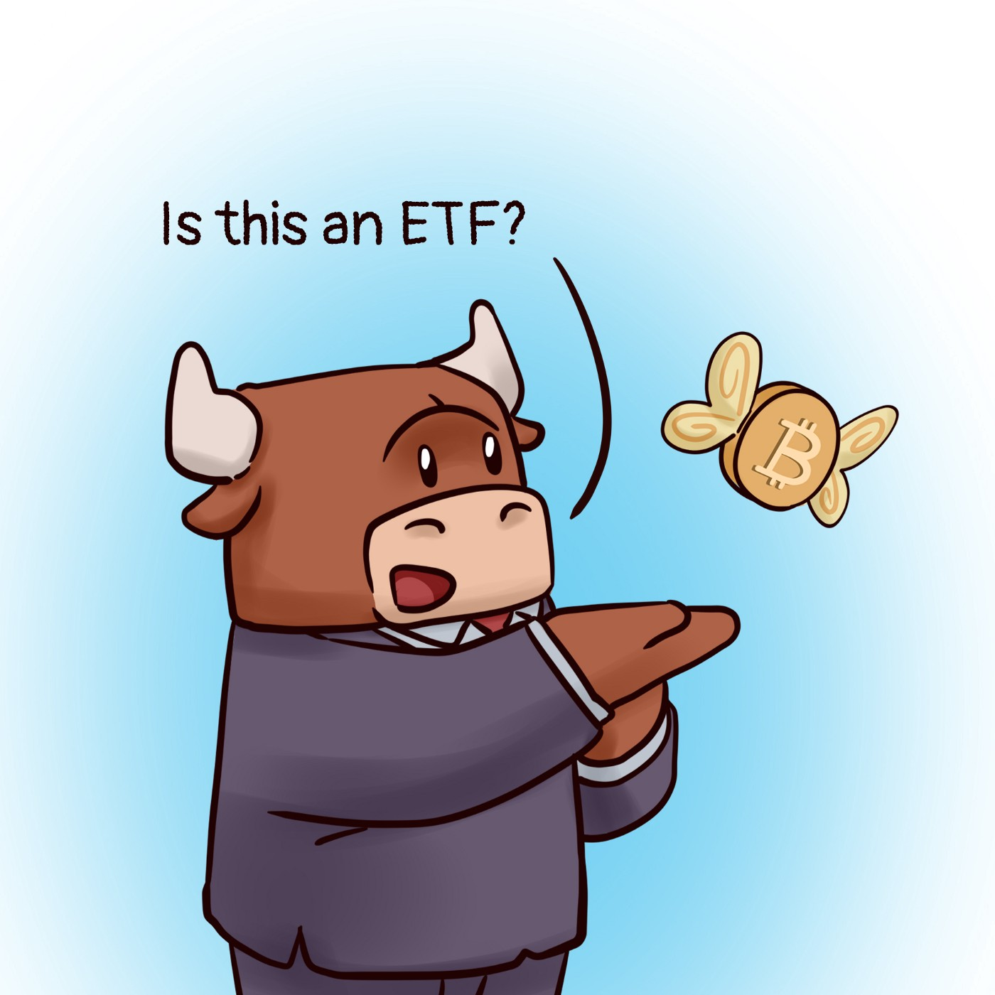 Is this a Bitcoin ETF?