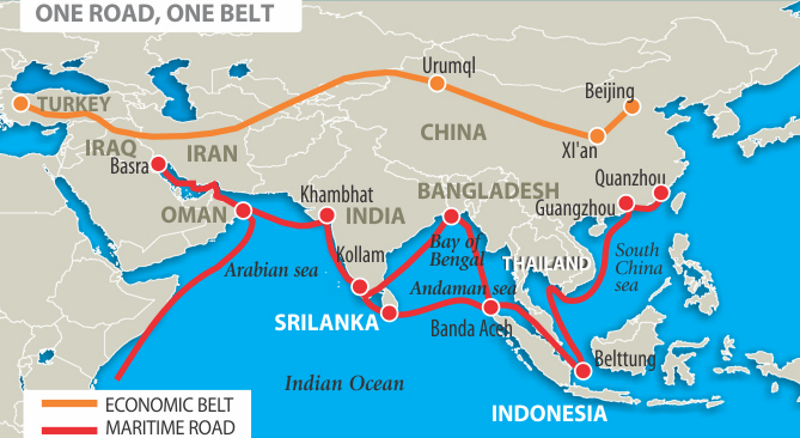 China's OBOR Strategy To Export Surplus And Gain Influence