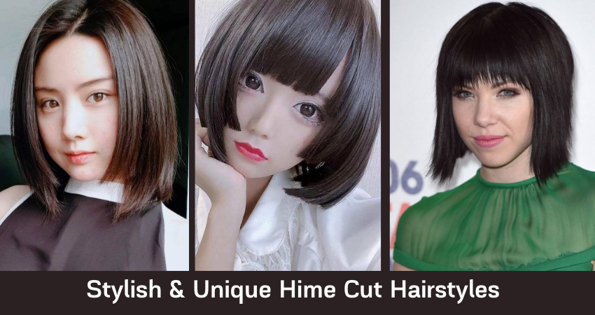 Hime Cut Hairstyles