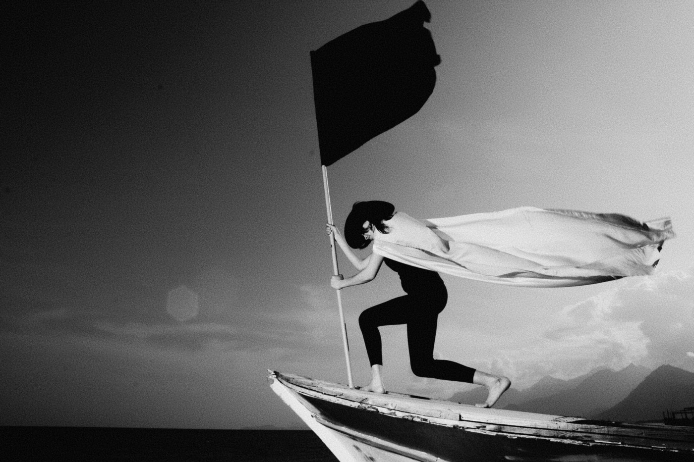 You have to put yourself out there to create a movement. Wave a flag. Stand out. Stand on the prow.