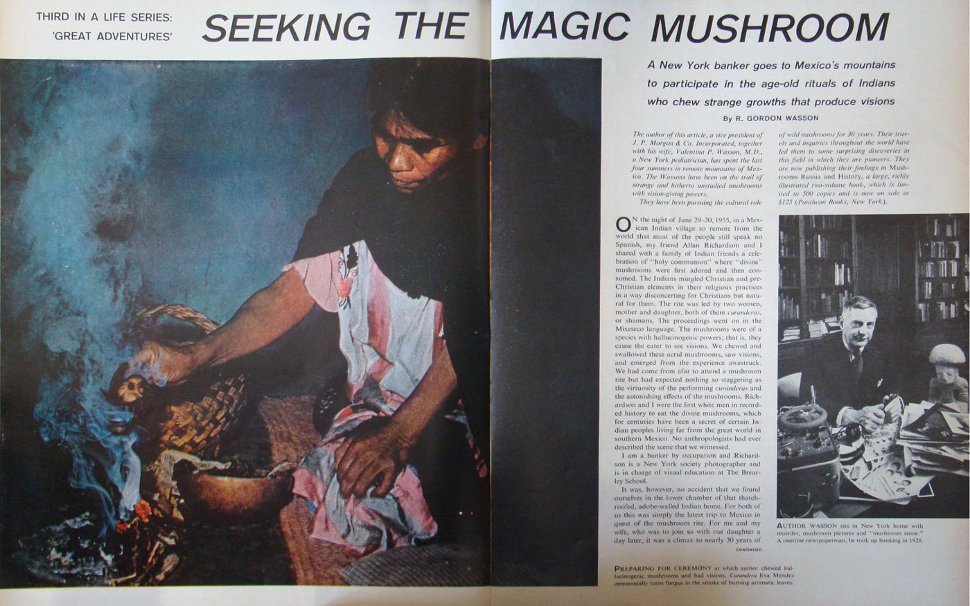This Mexican medicine woman hipped America to magic mushrooms, with