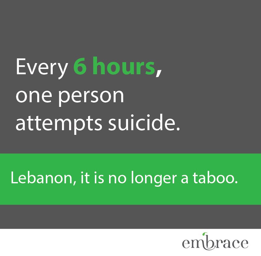 1564: Lebanon's First Suicide Prevention Hotline - Gino's Blog